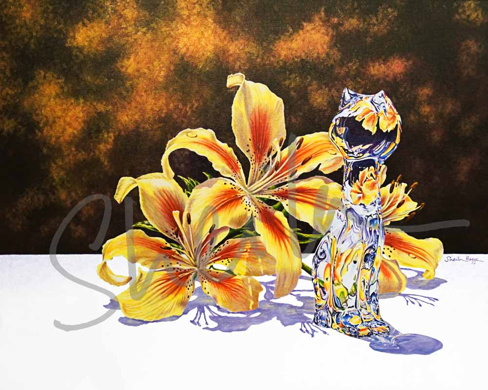 Yellow Lilies & Crysta0017